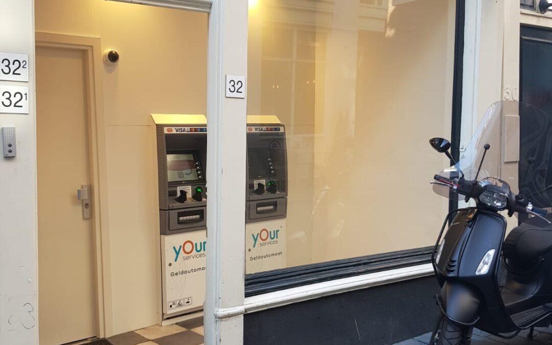 Geldautomaten op toplocatie
